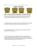 Help Wanted Pirate Using Bar Models Worksheet