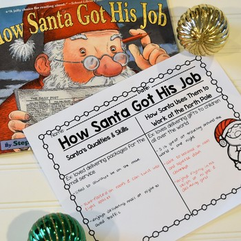 Christmas Writing - Persuasive Letter Writing and Elf Application Project