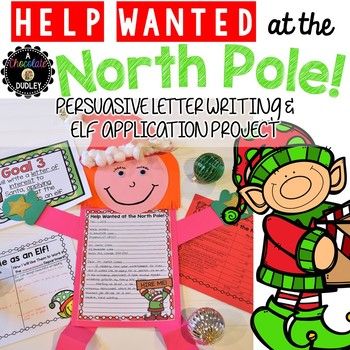 Christmas Help Wanted.Christmas Writing Persuasive Letter Writing And Elf Application Project