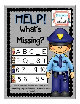 Help!  What's Missing? Help the Community Helper Find the