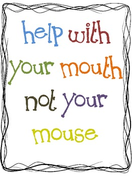 Help With Your Mouth, Not Your Mouse
