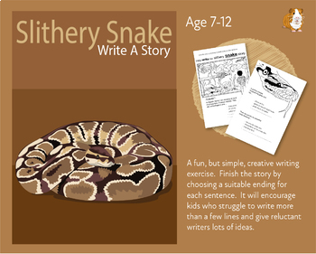 Help Write The Slithery Snake Story (7-11 years)