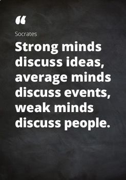 Help Your Students Become Great Thinkers ~ 7 Pages of Sages