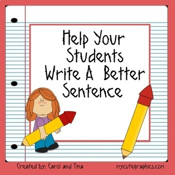 Help Your Students Write a Better Sentence