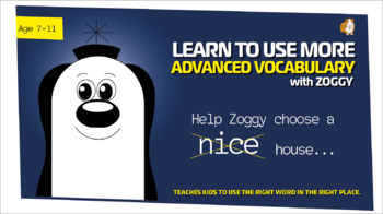 Help Zoggy Choose A 'Nice' House (Breakthrough In Vocabulary Work Pack) 7-11