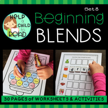 Help a Child to Read Series Set 8:  Beginning Blends