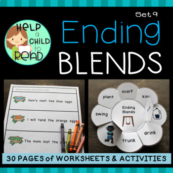 Ending Blends Practice