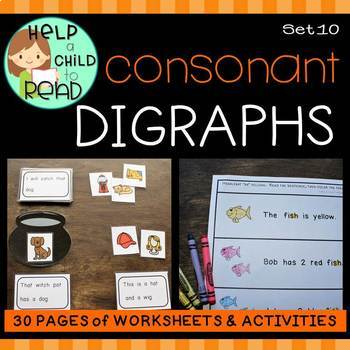 Help a Child to Read: Consonant Digraphs (sh, th, ch, wh)