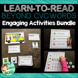 Beyond CVC Words Engaging Activities Bundle