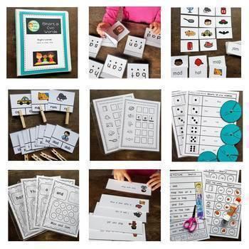 CVC Words Engaging Activities Bundle