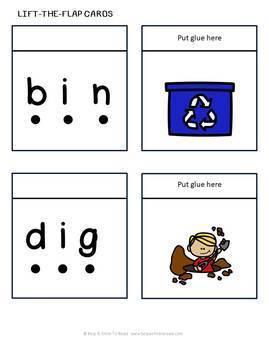 CVC Words Short i (Help a Child to Read Series Set 2)