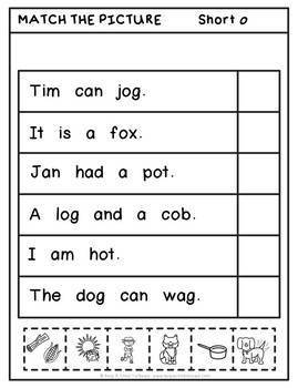 CVC Words Short o (Help a Child to Read Series Set 3)