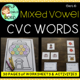 CVC Words Mixed Vowel (Help a Child to Read Series Set 6)