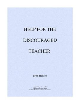 Help for Discouraged Teachers