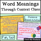 Word Meanings Context Clues for PROMETHEAN Board