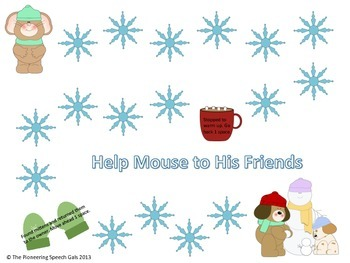 Help mouse to his friends {An open ended game}