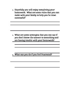 Help students to become homework experts!