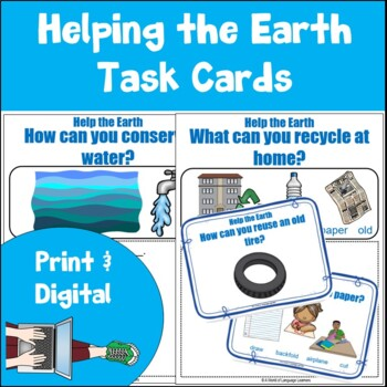 Help the Earth Task Cards