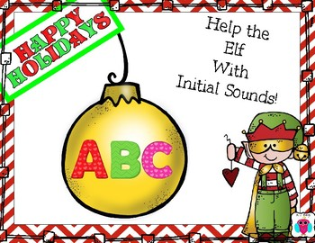Help the Elf with Initial Sounds
