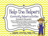 Help the Helper: Community Helpers Activities