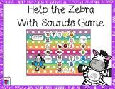 Help the Letter Sound Zebra