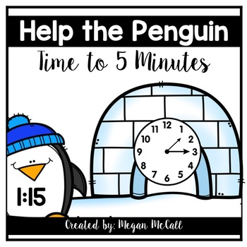 Help the Penguin-Time to 5 Minutes