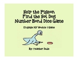 1st Grade Help the Pigeon Find the Hot Dog-Number Bond Gam