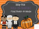 Help the Trick-or-Treaters Find Their Friends