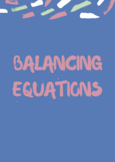Help to support your kids master the game of balancing equations!