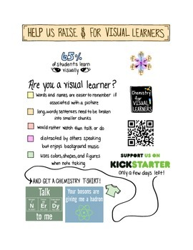 Help us raise funds for visual learners!