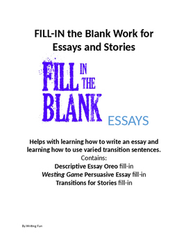 help with essays and stories fill in the blank by writing fun  close help with essays and stories fill in the blank essays