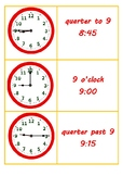 Help your students tell time! Analogue and Digital Clock cards