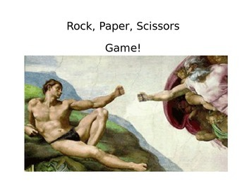 Help yourself ~ Rock Paper Scissors Game ESL