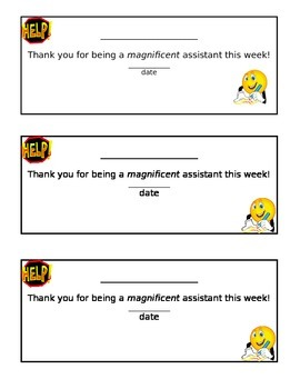 Helper Certificate