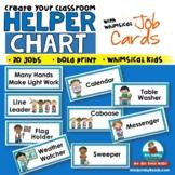 Classroom Jobs   Helper Chart   Responsibility   Classroom