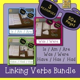 Helper Verbs Bundle {IS, AM, ARE, WAS, WERE, HAVE, HAS, HAD}