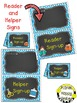 Helper and Reader Sign-ups, Aqua and Chalkboard theme