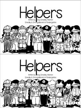 Helpers Emergent Reader!