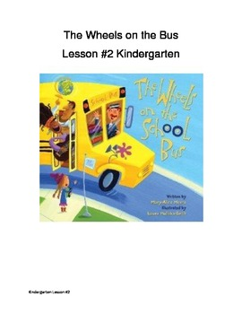 Helpers at school (book lesson on the Wheels on the School Bus)
