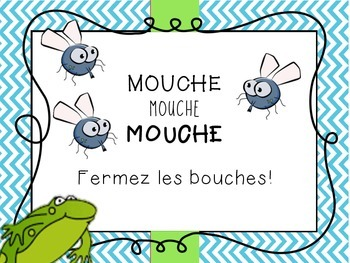 Helpful Class Posters - French
