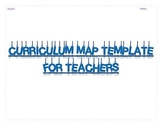 Helpful Curriculum Map Templates