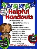 Helpful Handouts