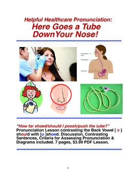 Helpful Healthcare Pronunciation: Here Goes a Tube Down Yo