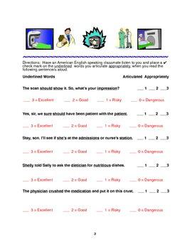 Helpful Healthcare Pronunciation: Let's Get a Cat scan!