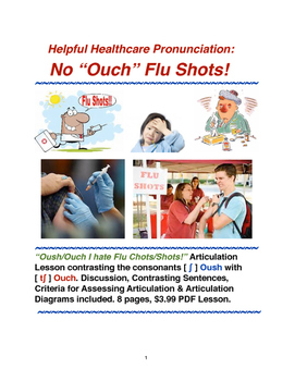 Helpful Healthcare Pronunciation: No Ouch Flu Shots!