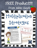 FREE Helpful Hints for Multiplication: Strategies, and Activity Cards (4)