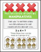 FREE Helpful Hints for Multiplication for Students (Set of 6 cards)