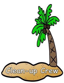Helpful Island Classroom Jobs