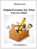 Helpful Procedure For When You Are Stuck (146)