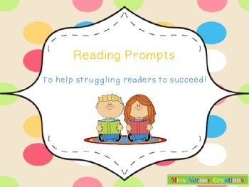 Helpful Prompts for Group and Individual Reading